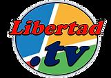 LIBERTAD TV  Logo Rojo y Bandera.png