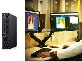 Imaging Diagnostics for Population Screening — Role of Edge Devices and Cloud Machine Learning