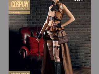 Cosplay by McCall's: Copper Maiden & Wastelander