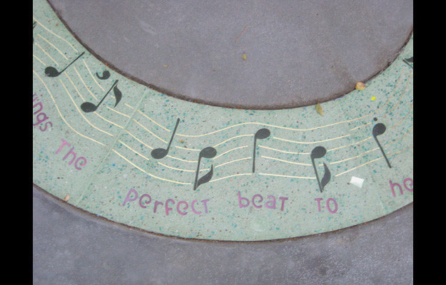 Detail of song circle by Altman