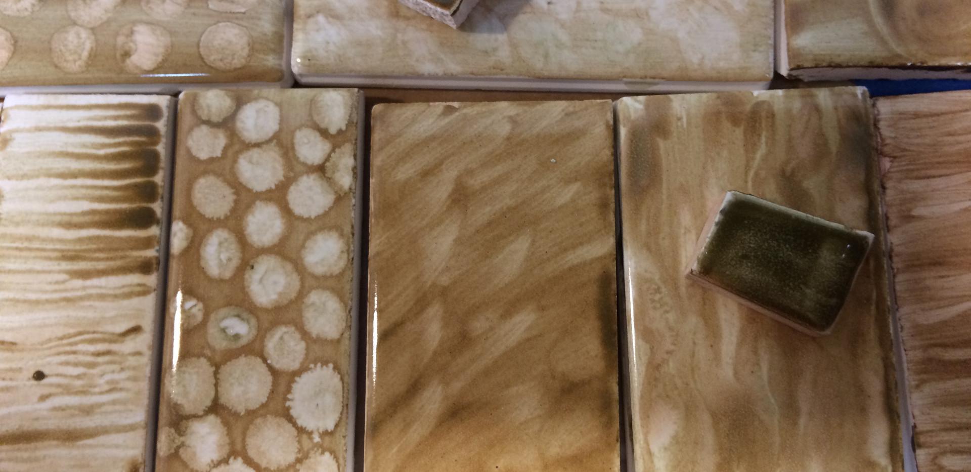 Custom glazed tile