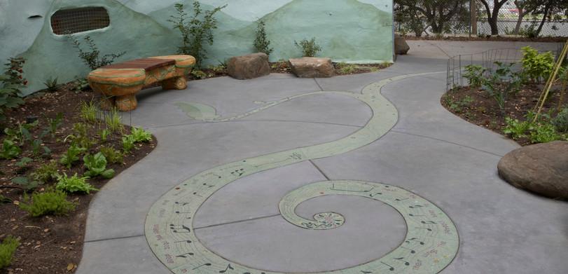 Song Circle, Children's Fairyland, Oakland CA