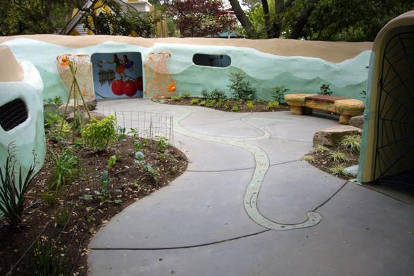 Fairy Music Farm Courtyard