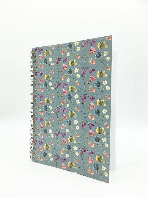 Flower Fields Note Book