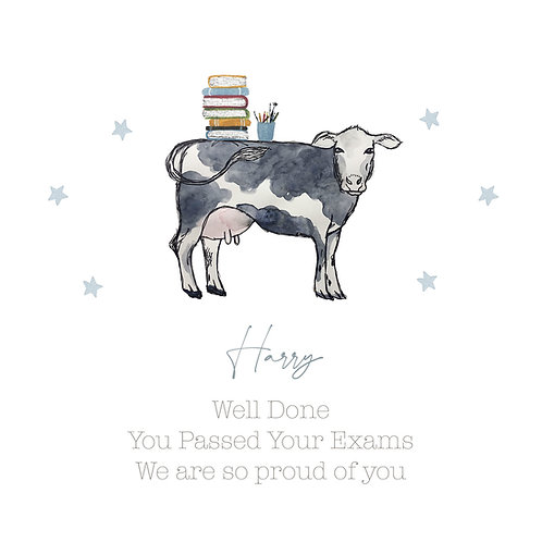 Personalised Boys/Girls Well Done Card