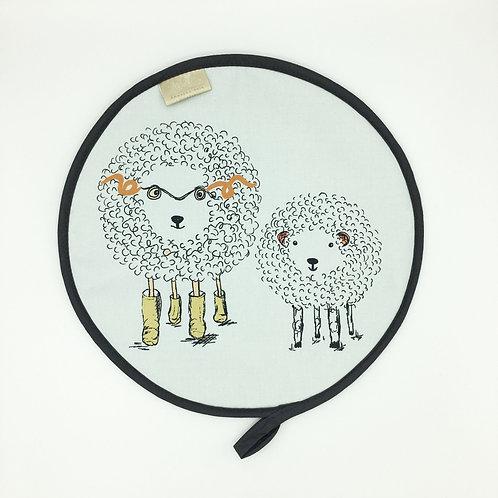 Sheep Motif Aga Hob Cover