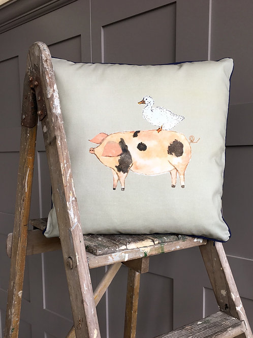Farm Garden Cushion
