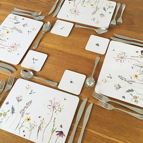 Cottage Garden Placemats - Set of 4