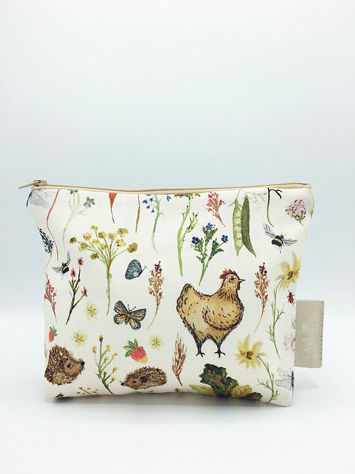 Country Meadows Pouch Bag