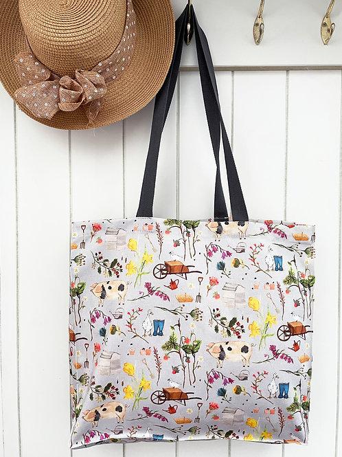 Farm Garden Canvas Bag