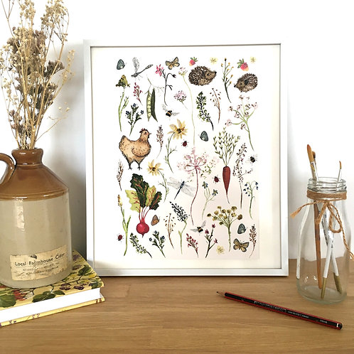 Country Meadows Signed Limited Edition Framed Art Print