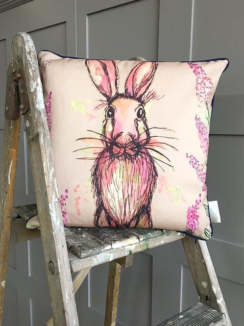 Wild Hare Cushion