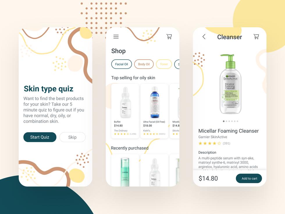 Cosmetics e-commerce