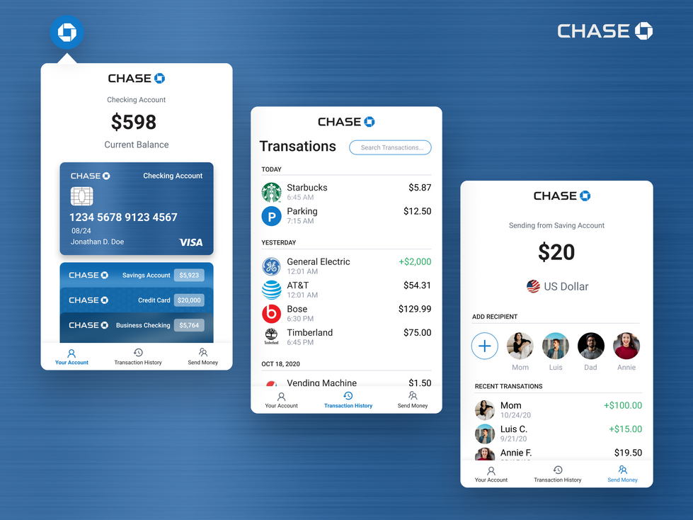 Banking Chrome Extension