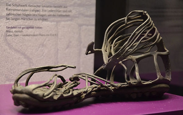 Caliga,_Roman_soldiers_sandal_from_the_1