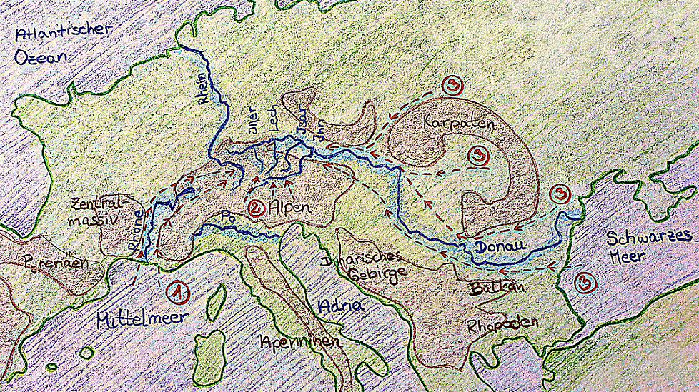 Karte Biotopbrücke
