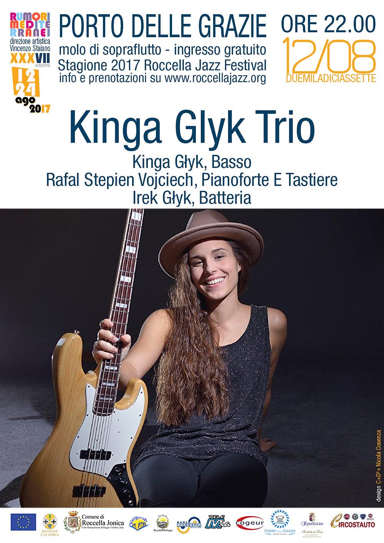 Kinga Glik Trio - Porto delle Grazie 12/08/2017 Roccella Festival Jazz