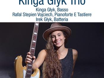 """Concerto d'apertura della 37esima edizione Kinga Glik Trio ore 22.00 Porto """"delle Grazie&qu"""