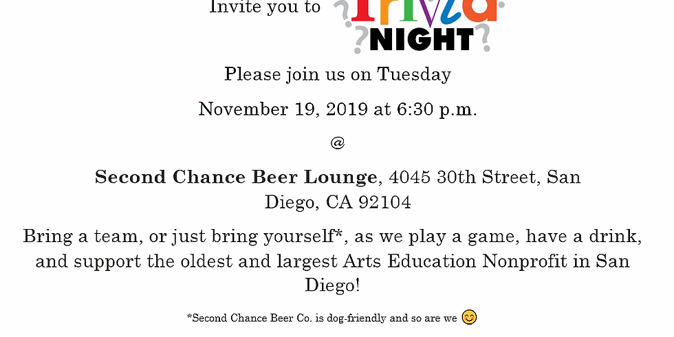 Trivia Night at Second Chance Beer Co.