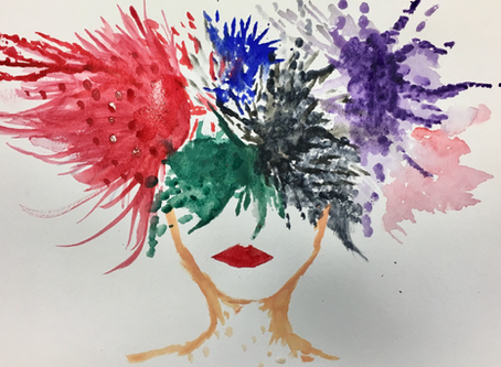 Art therapy helps students cope with stress