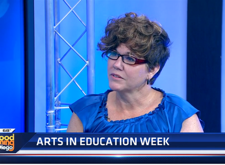It's Arts in Education Week around the United States