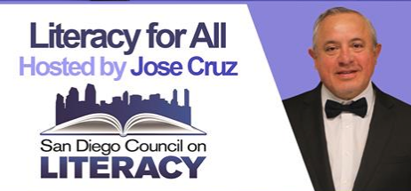 Jose cruz interviews Tara Graviss for San Diego Council on Literacy