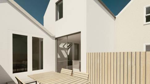 Cottage remodelling extension Rural Stud