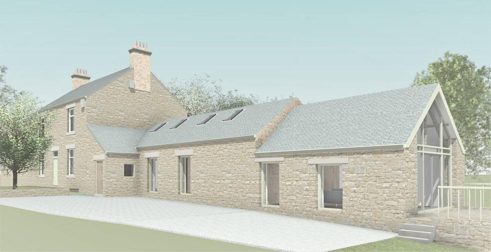 1805 - Watergate Farm Coloured Exterior