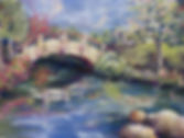 Moon Bridge (pastel painting)