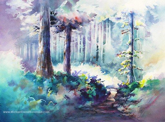 light midground negative painting