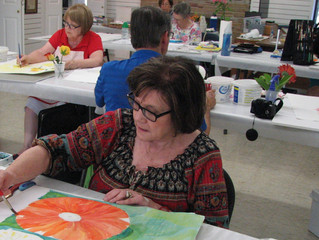 Big Bold Flowers Workshop