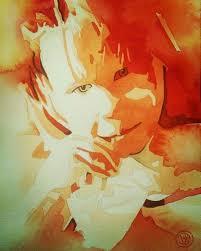 negative portrait