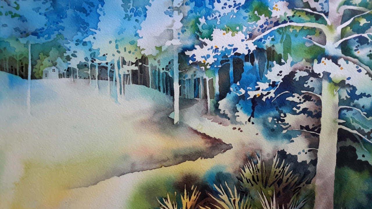 park negative painting