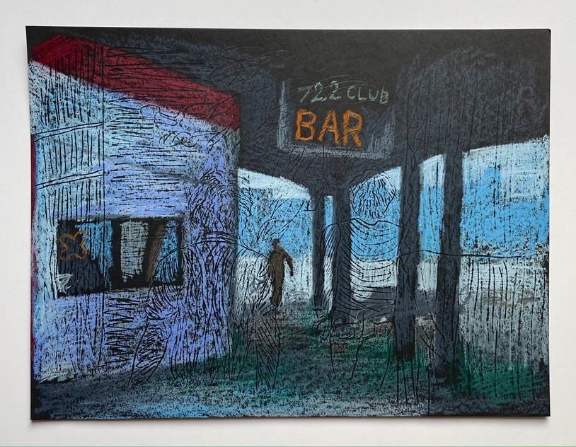"""722 Club Bar #1, 2021 (""""Cruising"""" series)"""