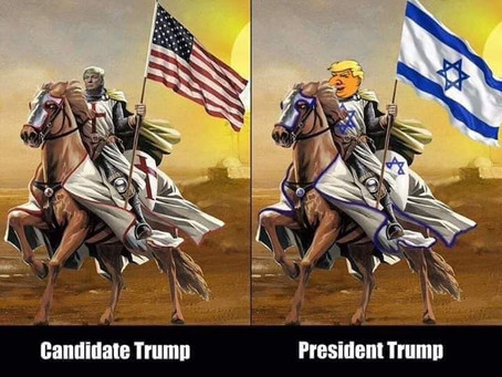 """Donald Trump Helped Make """"Greater Israel"""""""