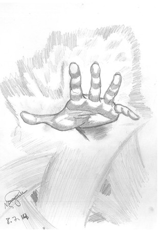 The hand that asks and / or the hand that preserves?