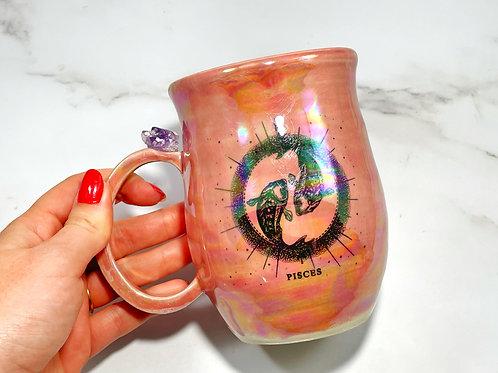 Pink Pisces Mug