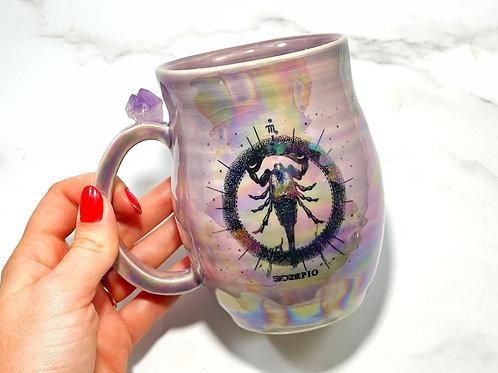 Purple Scorpio Mug
