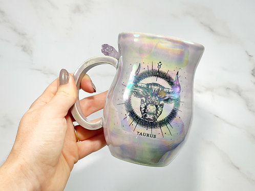 Lavender Taurus Mug
