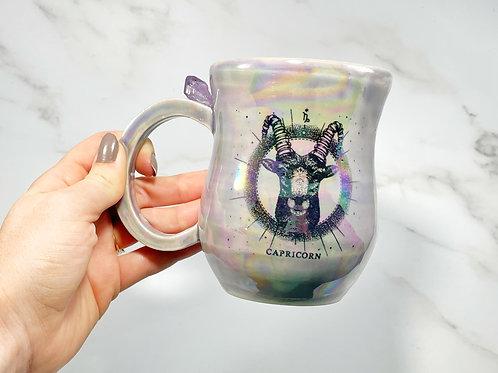Lavender Capricorn Mug