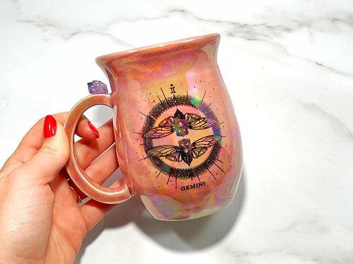 Pink Gemini Mug