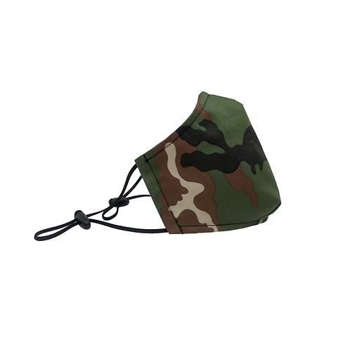 Mascherina Sartoriale Camouflage