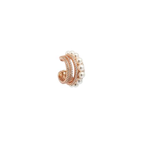 Ear Cuff Zirconi e Perle