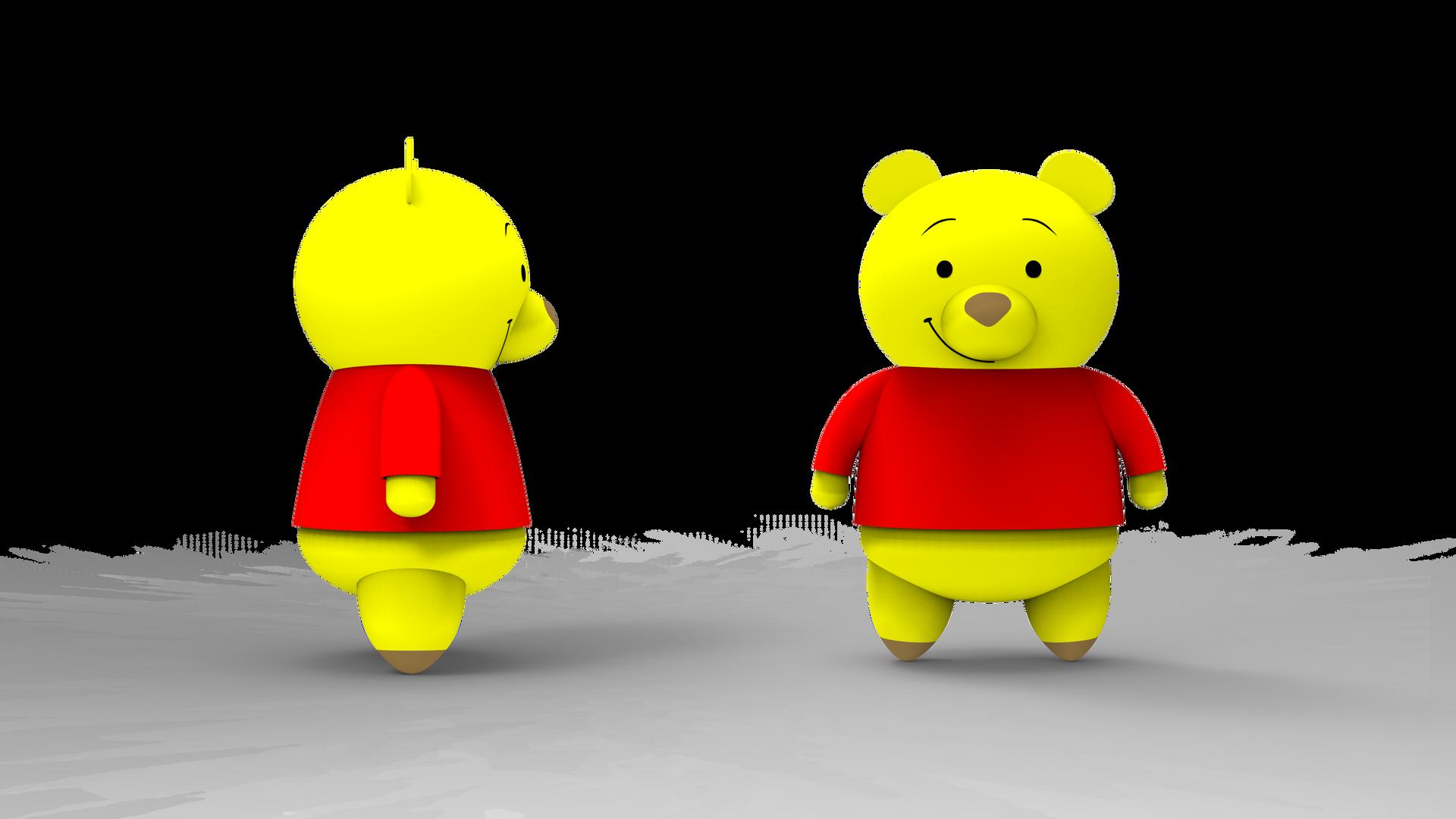 Winnie The Pooh_Nano Block