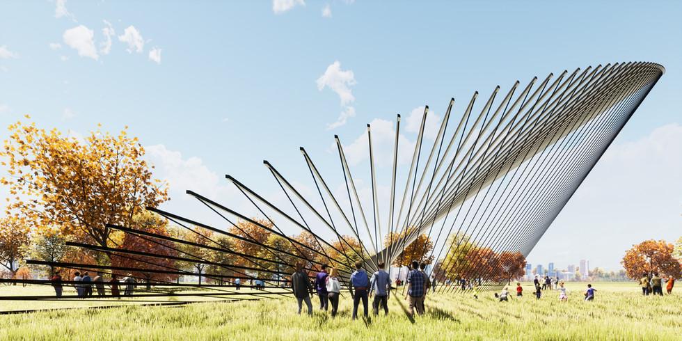 Parabolic Structure Pavilion