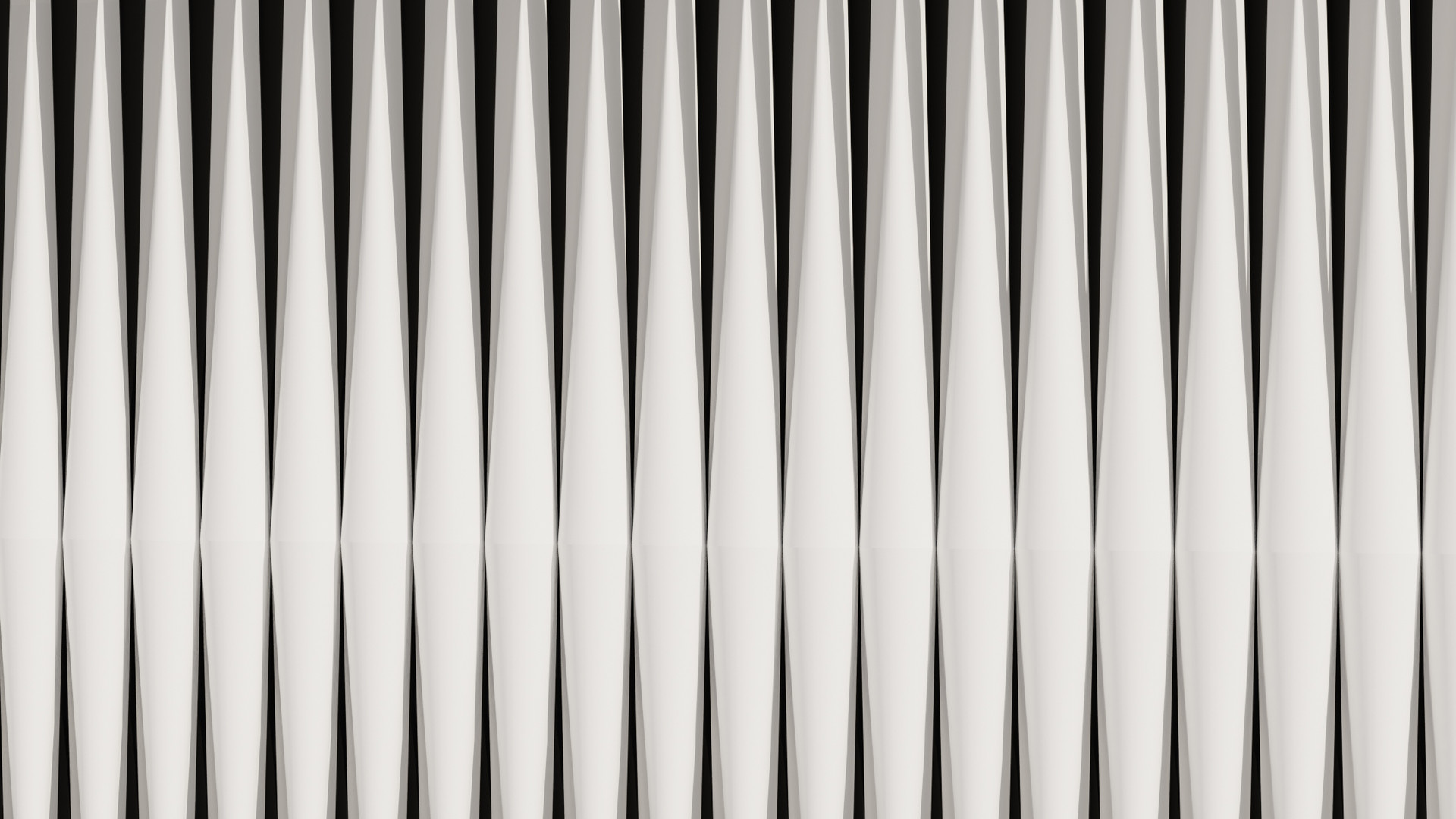 Arrayed Cone Wall Pattern