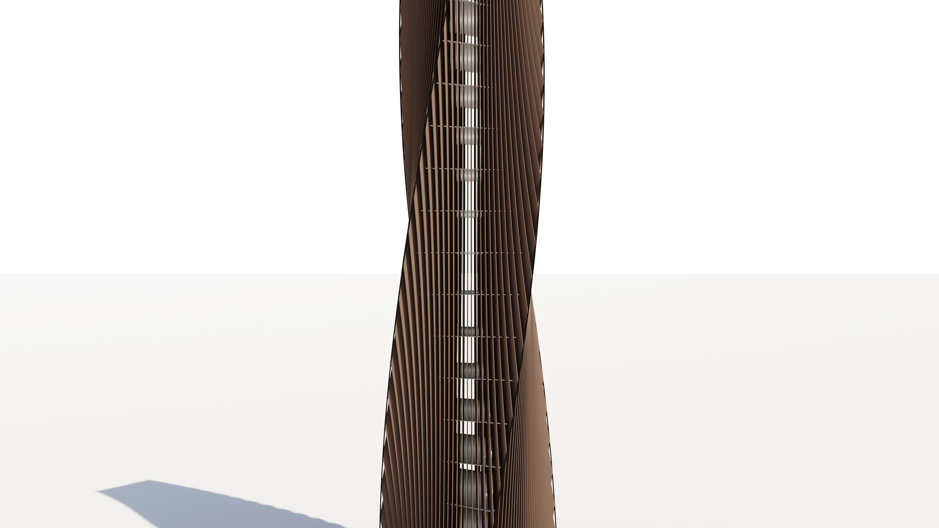 Vertical Louver Tower