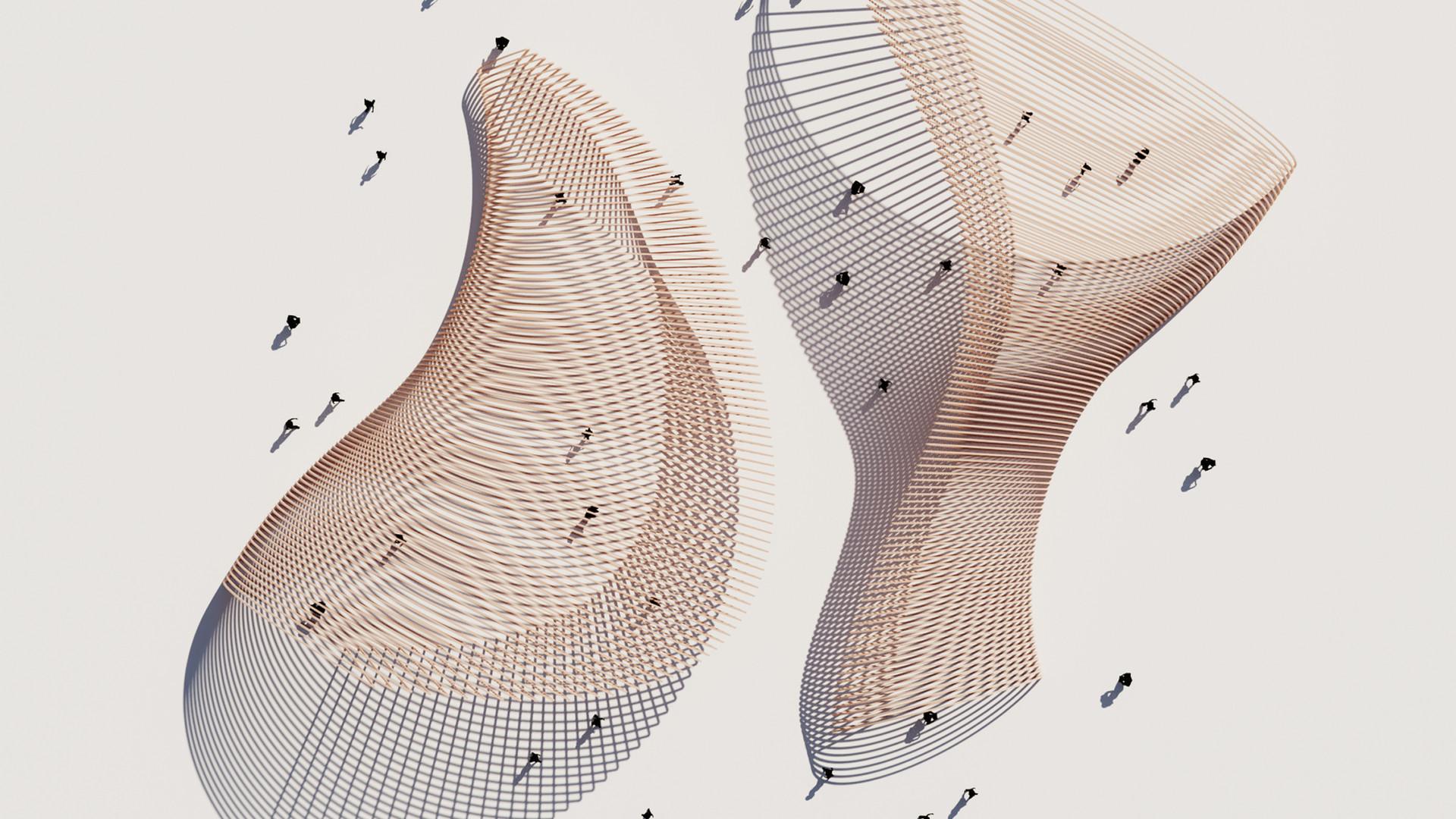 Parametric Arc Pavilion