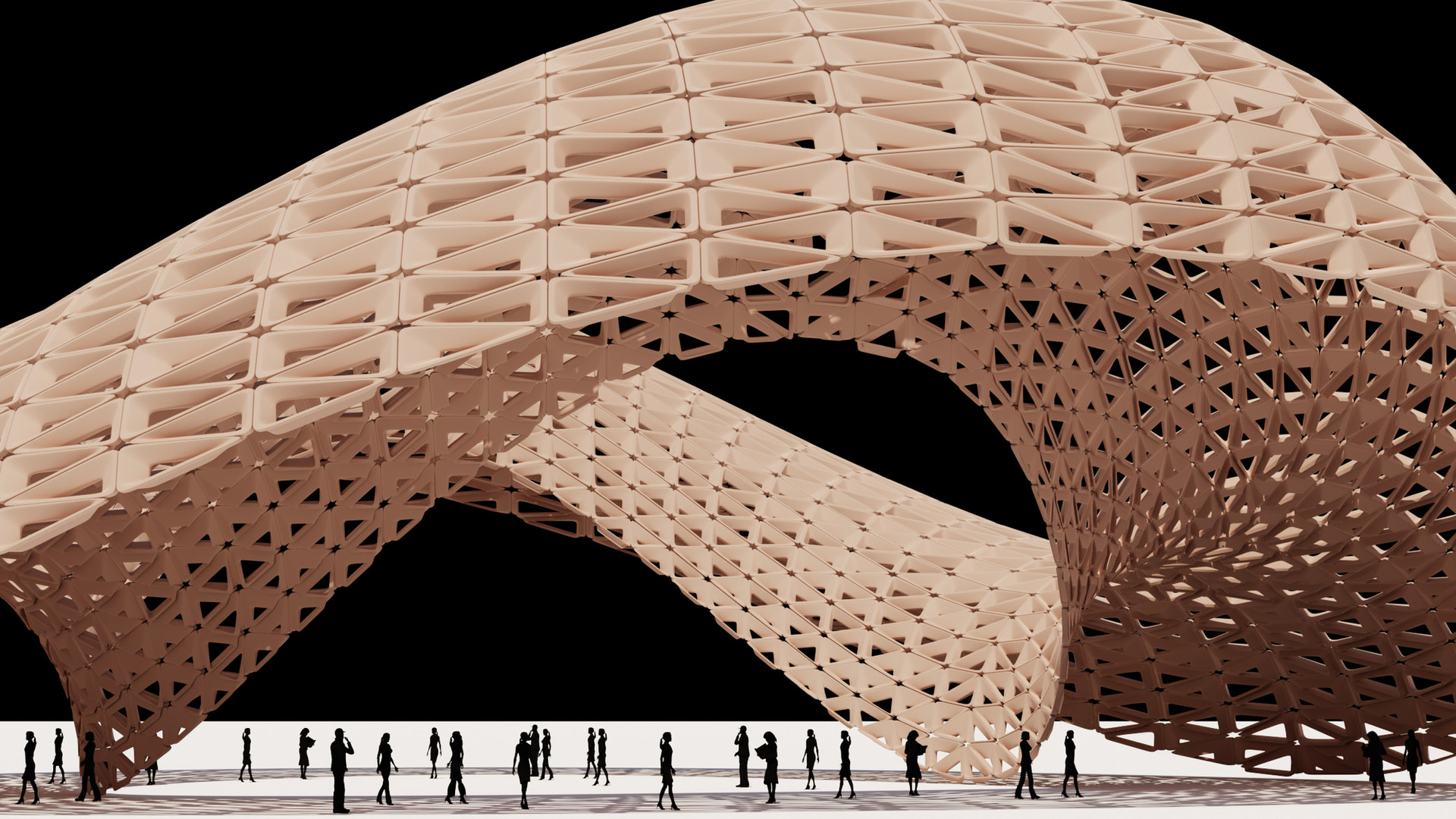 Cosine Curve Pavilion