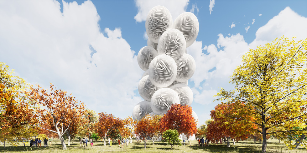 Bubble Tower